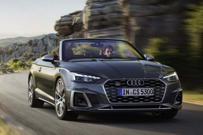 El Audi S5 Cabrio 2020 llegará a finales de primavera con motor de gasolina TFSI