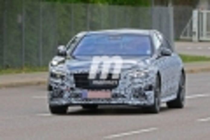 Nuevas fotos espía desvelan el paquete deportivo AMG del Mercedes Clase S 2020