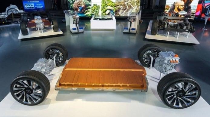 Plataforma de Generla Motors para coches eléctricos