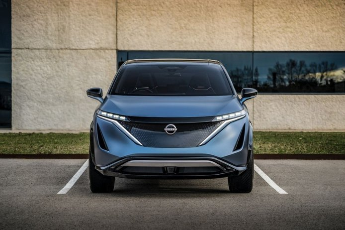 El diseñador del Nissan Ariya Concept lo sitúa al 90% de un modelo de producción