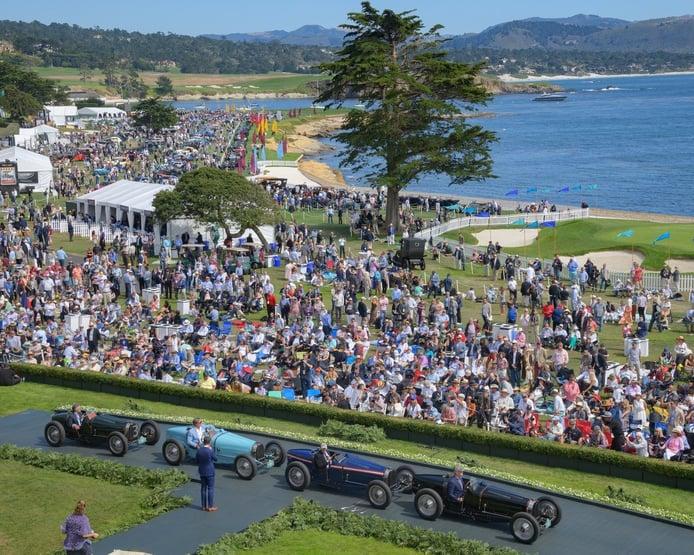 Cancelada la próxima edición del Pebble Beach Concours d'Elegance