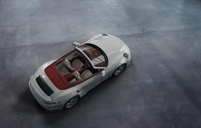 Porsche Exclusive presenta una lujosa propuesta en el nuevo 911 Turbo S Cabrio