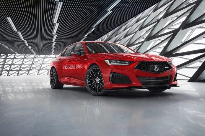 El Acura TLX 2021 llega estrenando nueva versión Type S