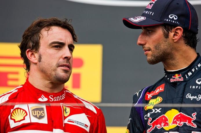 Así se ganó Ricciardo el respeto de «leyendas» como Alonso y Schumacher