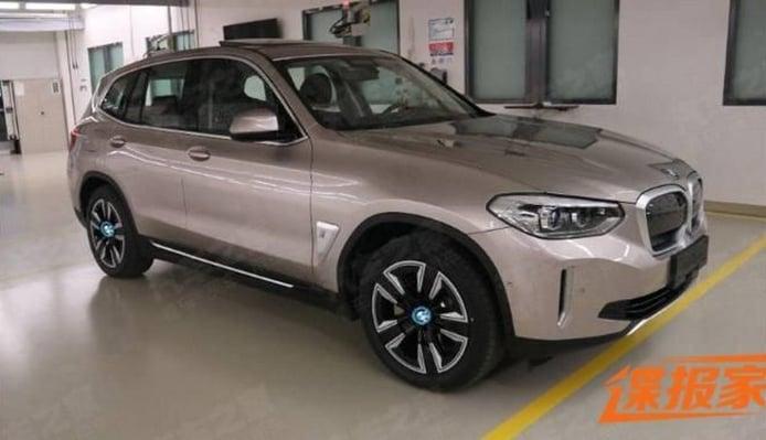 Filtrado el BMW iX3 y todos los elementos de su gama en China