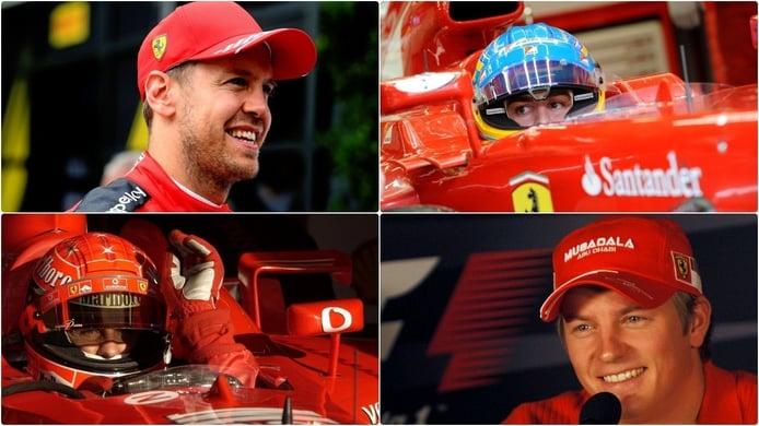 Vettel, 101 GP con Ferrari: ¿mejor o peor que Alonso, Schumacher y Räikkönen?