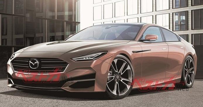 Mazda6 2022, vislumbrando cómo será la nueva generación de la berlina japonesa