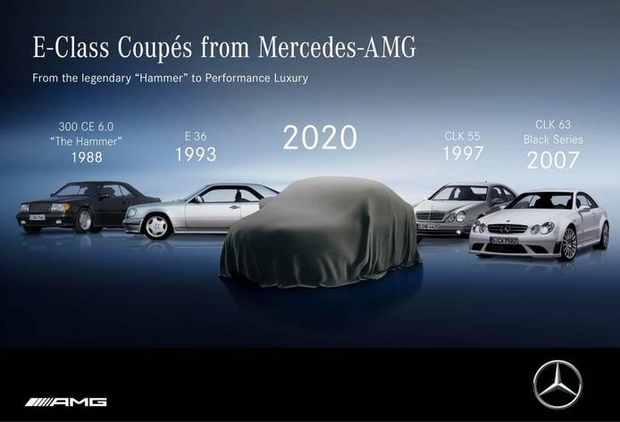 Mercedes anuncia el facelift de los Clase E Coupé y Clase E Cabrio