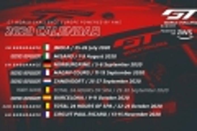 El GT World Challenge Europe presenta su nuevo calendario 2020