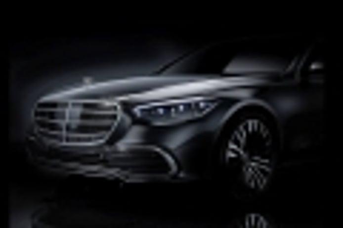 Mercedes lanza el primer teaser del nuevo Clase S 2021
