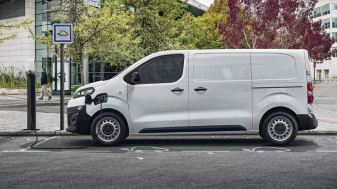 Citroën ë-Jumpy - lateral