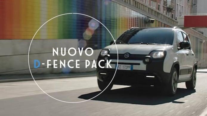 Fiat Panda Hybrid D-Fence Pack