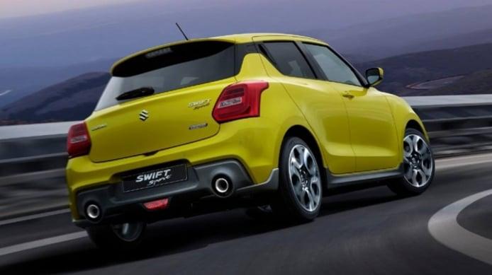Suzuki Swift Sport Hybrid - posterior