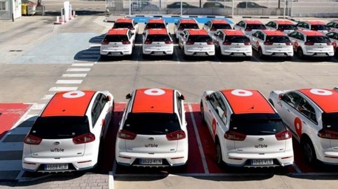 El car sharing de WiBLE hace uso del Kia Niro PHEV