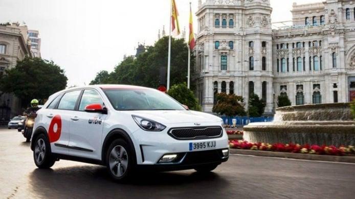WiBLE, el car sharing de Kia y Repsol