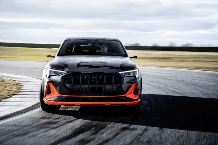 Audi desvela la aerodinámica de los nuevos e-tron S y e-tron S Sportback