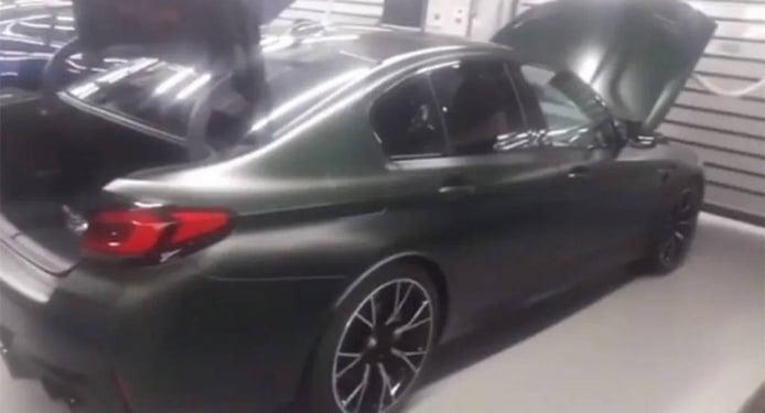 ¡Al descubierto! El nuevo BMW M5 CS filtrado al completo en vídeo