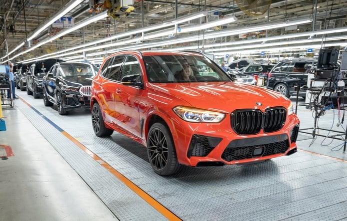 La fábrica de BMW en Spartanburg bate récord de producción