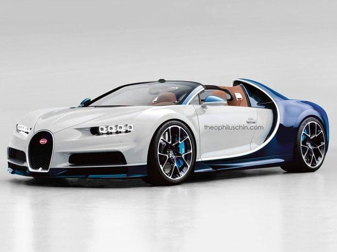 ¿Un Bugatti Chiron roadster de 9 millones? Hay quien asegura que ya está en camino