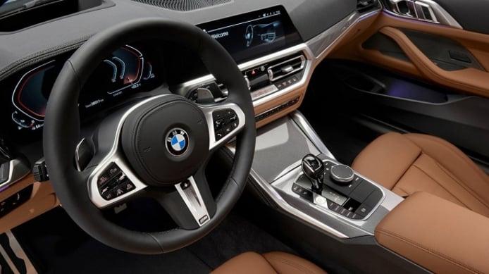 BMW Serie 4 Coupé 2020 - interior