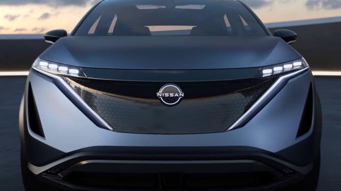 ¿Cambiará Nissan el diseño de su emblema? El nuevo Ariya tiene la clave