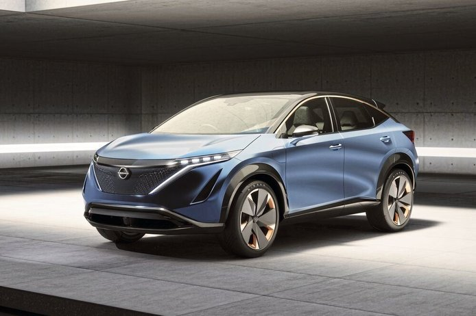 El Nissan Ariya debutará el próximo mes de julio y a la venta a finales de 2020