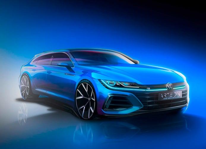 Volkswagen presenta un teaser del nuevo Arteon Shooting Brake