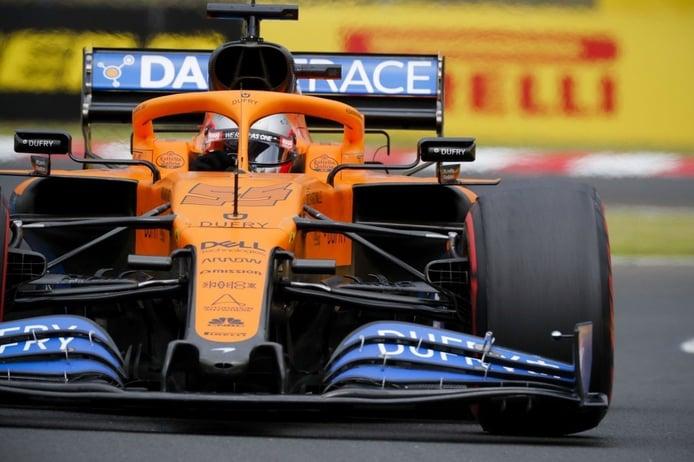 El McLaren de Sainz y Norris estrenará novedades en Silverstone