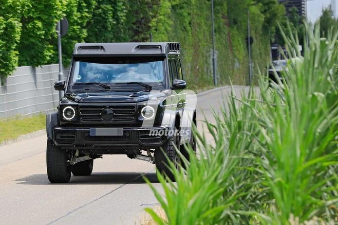 Nuevas fotos espía desvelan al nuevo Mercedes-AMG G 4x4² completamente destapado