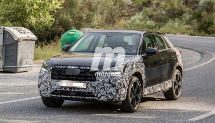 Audi Q2 2021 - foto espía