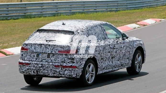 Audi Q5 Sportback - foto espía posterior