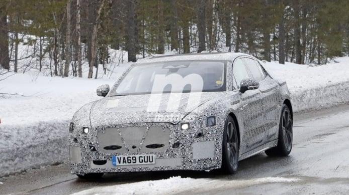 Jaguar XJ 2021 - foto espía frontal