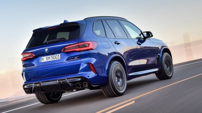 BMW X5 M - posterior