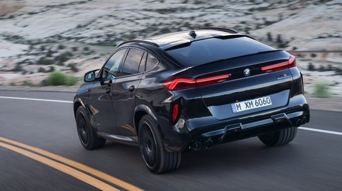 BMW X6 M Competition - posterior