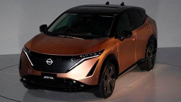 ¡Se acabó la espera! El nuevo Nissan Ariya, un SUV eléctrico, se ha filtrado