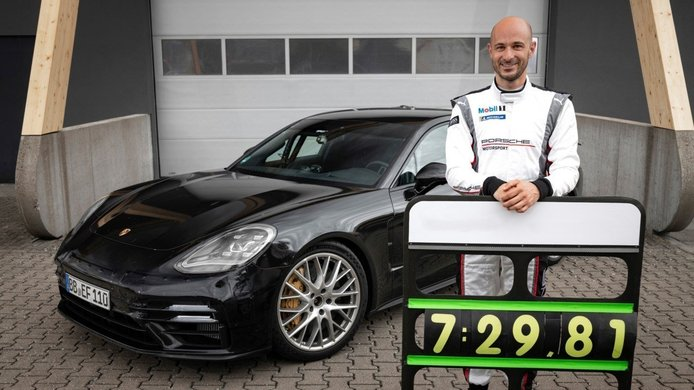 Es oficial: el actualizado Porsche Panamera bate un nuevo récord en Nürburgring