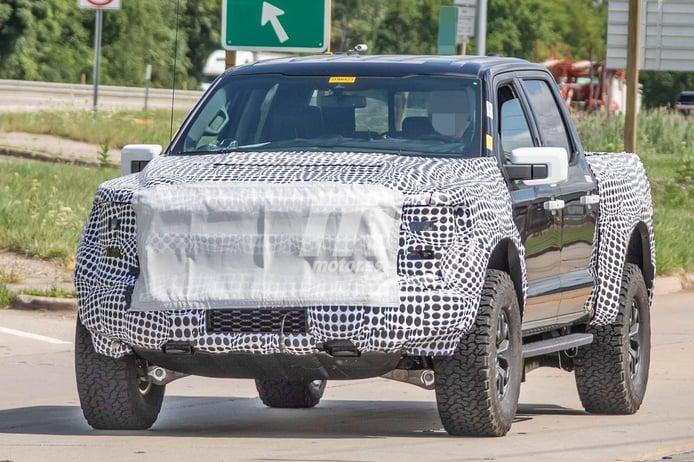 Este prototipo del nuevo Ford F-150 Raptor nos revela sus mayores novedades