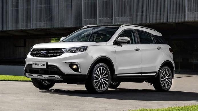 El Ford Territory, un interesante SUV chino enmascarado, desembarca en Brasil