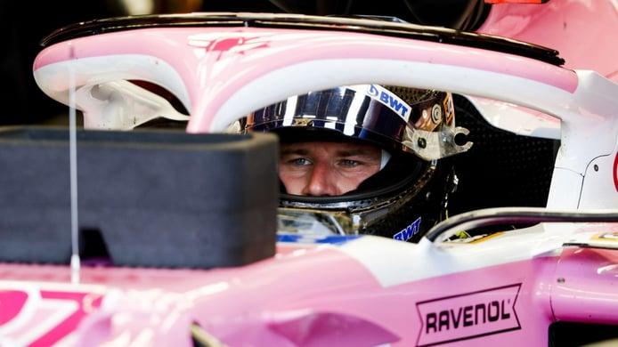Hülkenberg repite con Racing Point en Silverstone; Pérez, de nuevo positivo