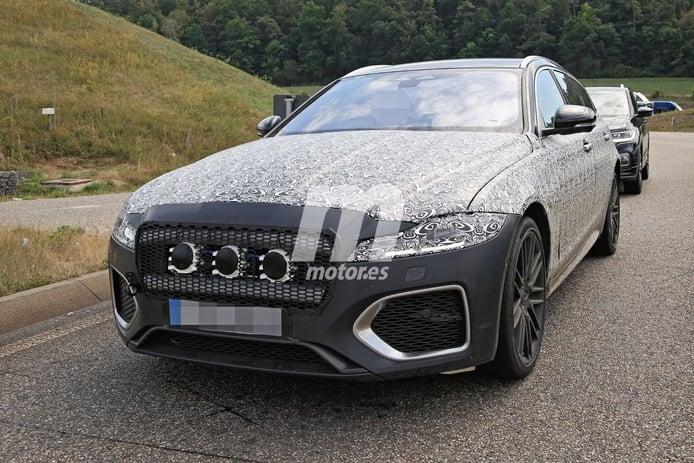 Se destapa el Jaguar XF Sportbrake Facelift 2021, el familiar británico pierde camuflaje