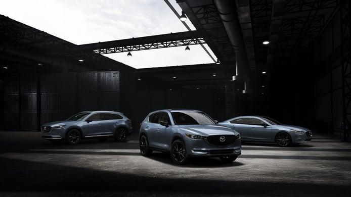 Los Mazda CX-5, CX-9 y Mazda6 estrenan versión Carbon Edition en 2021