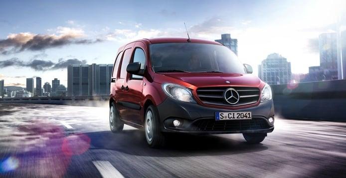 Mercedes estudia prescindir de la variante comercial y profesional del Citan