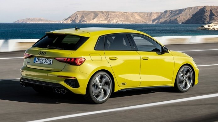 Audi S3 Sportback 2021 - posterior