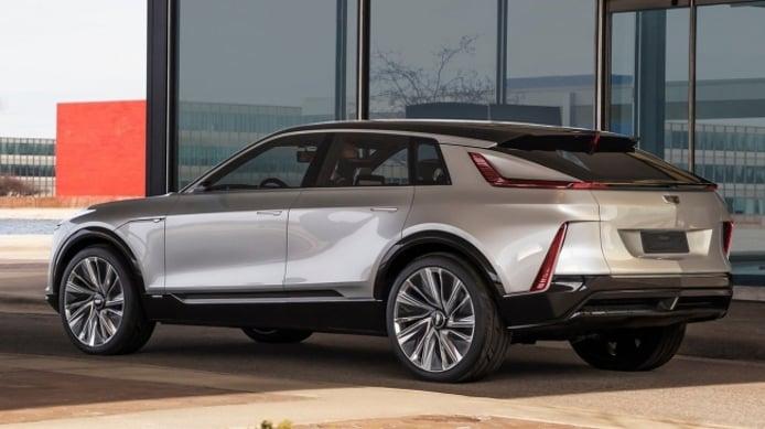 Cadillac Lyriq Concept - posterior
