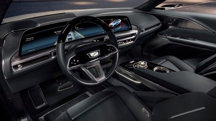 Cadillac Lyriq Concept - interior