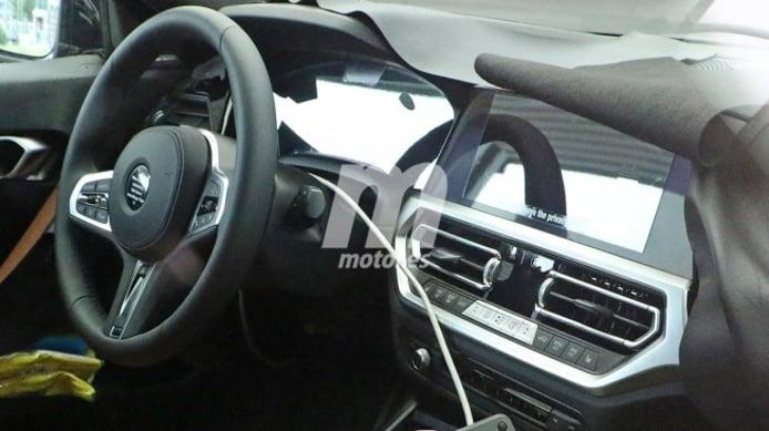 BMW Serie 2 Coupé 2022 - foto espía interior