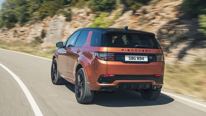 Land Rover Discovery Sport Black Edition - posterior