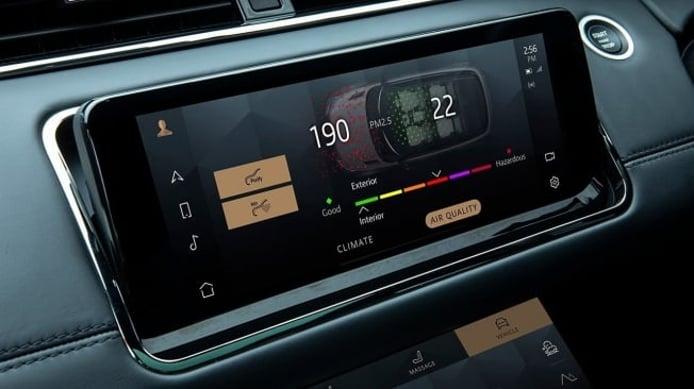 Range Rover Evoque 2021 - interior