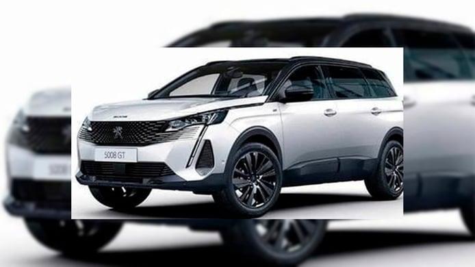 ¡Filtrado! El nuevo Peugeot 5008 2021 queda al descubierto