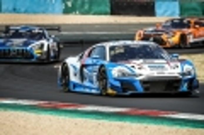El Audi #26 termina con victoria la visita del GTWC Europe a Magny-Cours